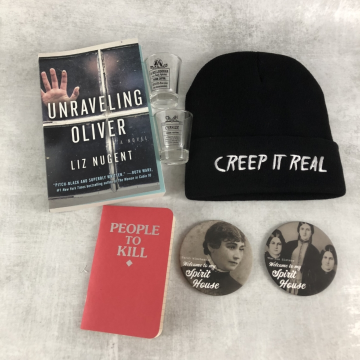 Creepy crate february 2018 subscription box review coupon creepy crate is a subscription box full of items from many different horror properties there are items you may not expect but unlike that noise you hear fandeluxe Gallery