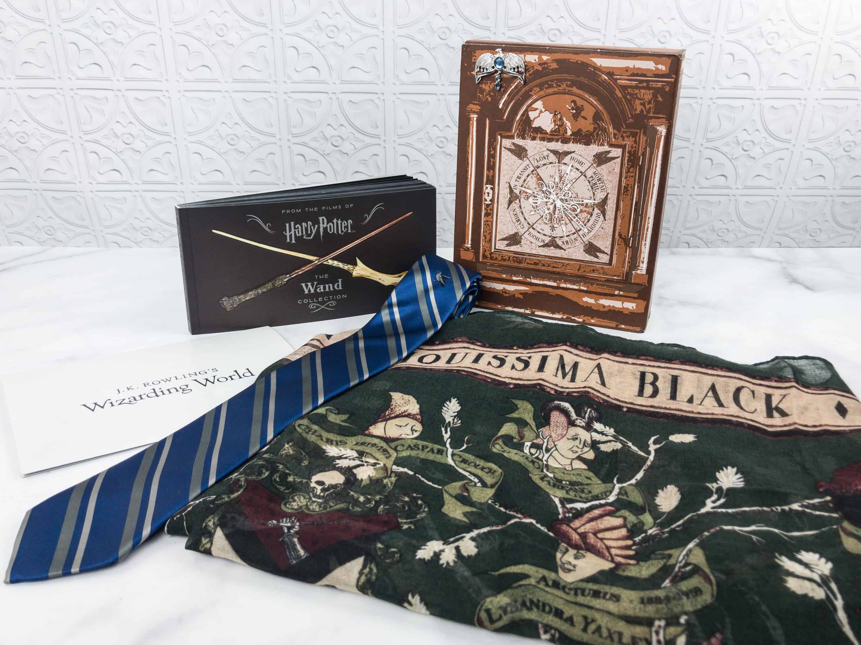 JK Rowling's Wizarding World Crate January 2018 Review + Coupon