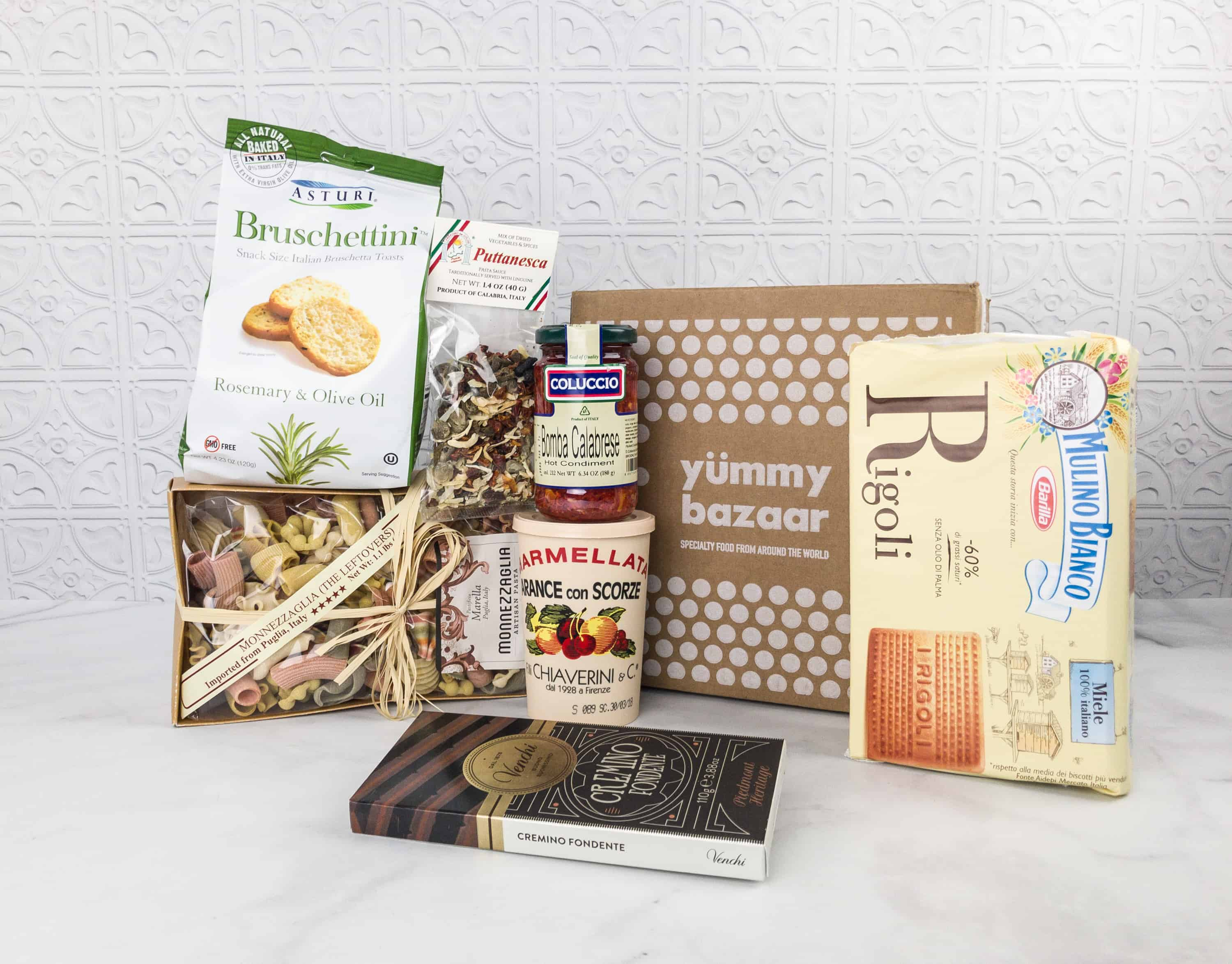 February 2018 Yummy Bazaar Full Experience Subscription Box Review