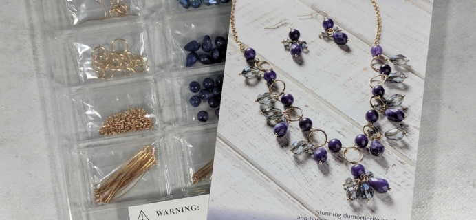 Annie's Simply Beads Kit-of-the-Month Club Subscription Box Review – December 2017