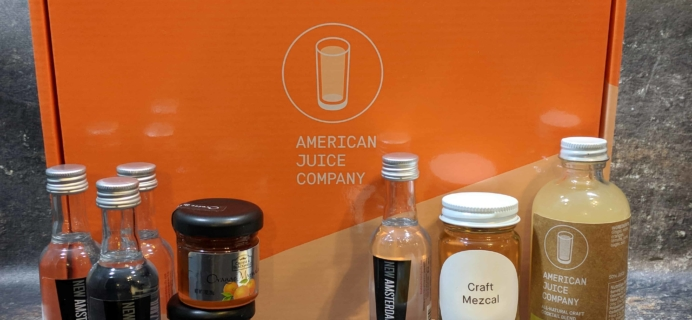 American Cocktail Club Subscription Box Review – December 2017