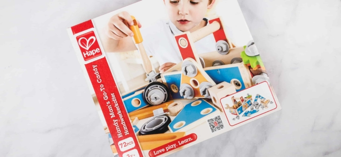 Amazon STEM Toy Club February 2018 Subscription Box Review – 3 to 4 Year Old Box