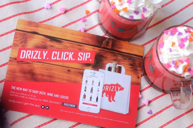 Drizly Valentine's Day Deal: Get $10 Off Your First Order!