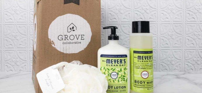 Grove Collaborative Subscription Box Review & Coupon – February 2018