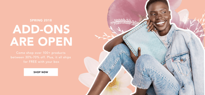 FabFitFun Spring 2018 Box Add-Ons Available For All Subscribers!