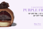 Vosges Valentine's Purple Friday Sale: Up to 20% Off!