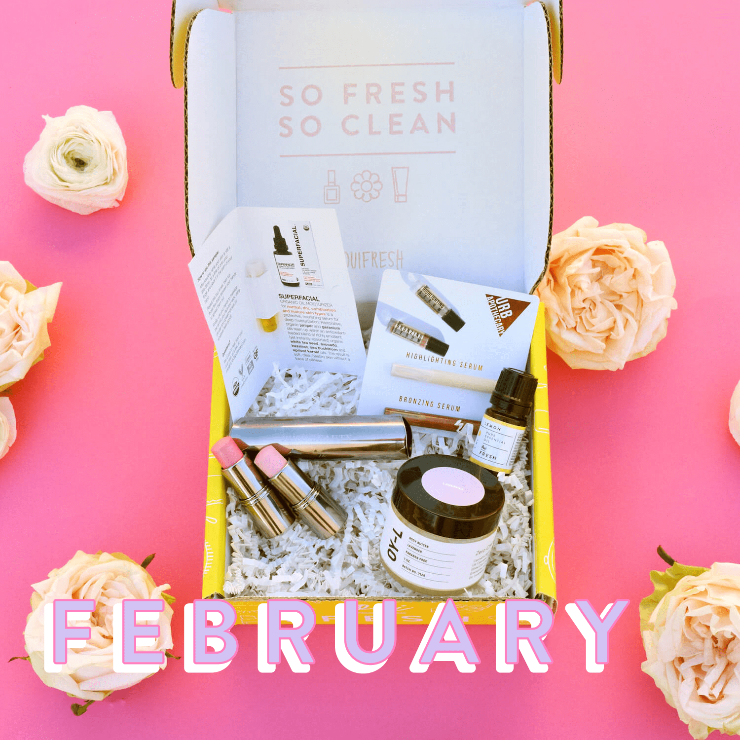 Oui Fresh February 2018 Full Spoilers!