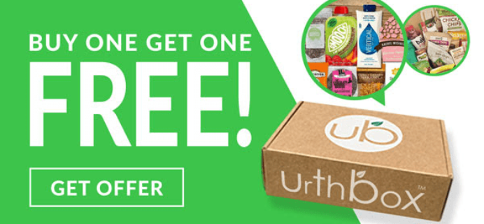 UrthBox Coupon July 2018: Get Free Bonus Box + $10 Off Your First Box!