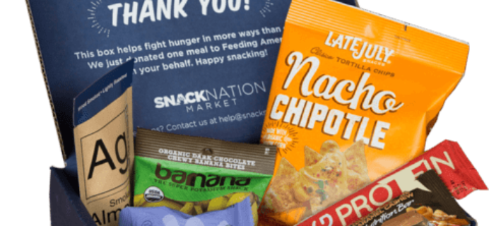 SnackNation Deal: Get 6 Snacks For Only $1!
