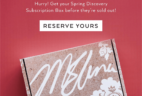 Spring 2018 Margot Elena Discovery Box Available Now!