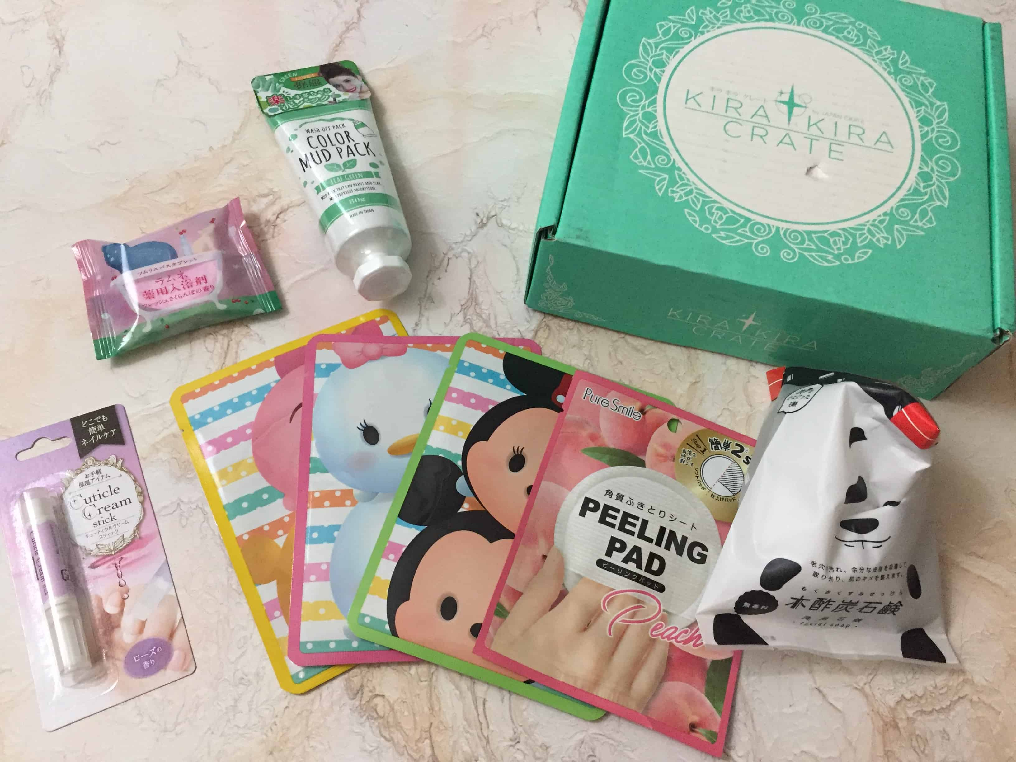 Kira Kira Crate February 2018 Subscription Box Review + Coupon