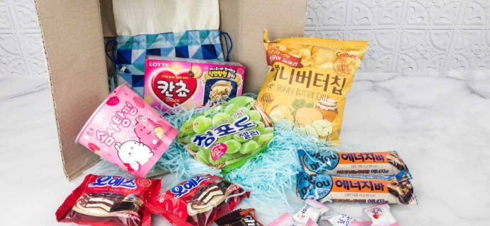 Korean Snack Box February 2018 Subscription Box Review + Coupon