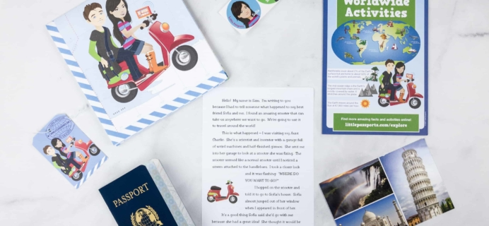 Little Passports World Edition Subscription Box Review + Coupon – INTRO BOX