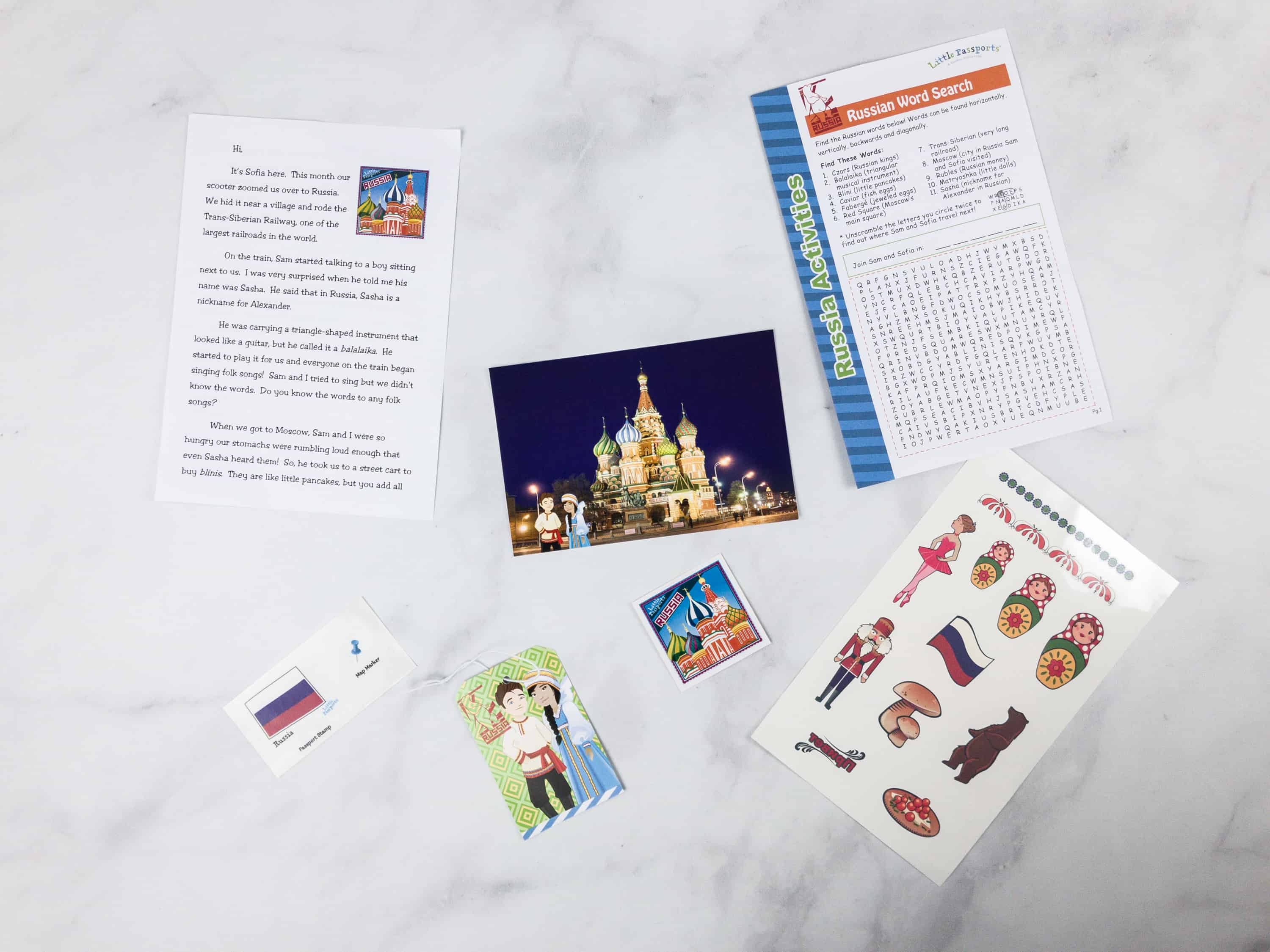 Little passports world edition subscription box review coupon everything inside the box gumiabroncs Gallery