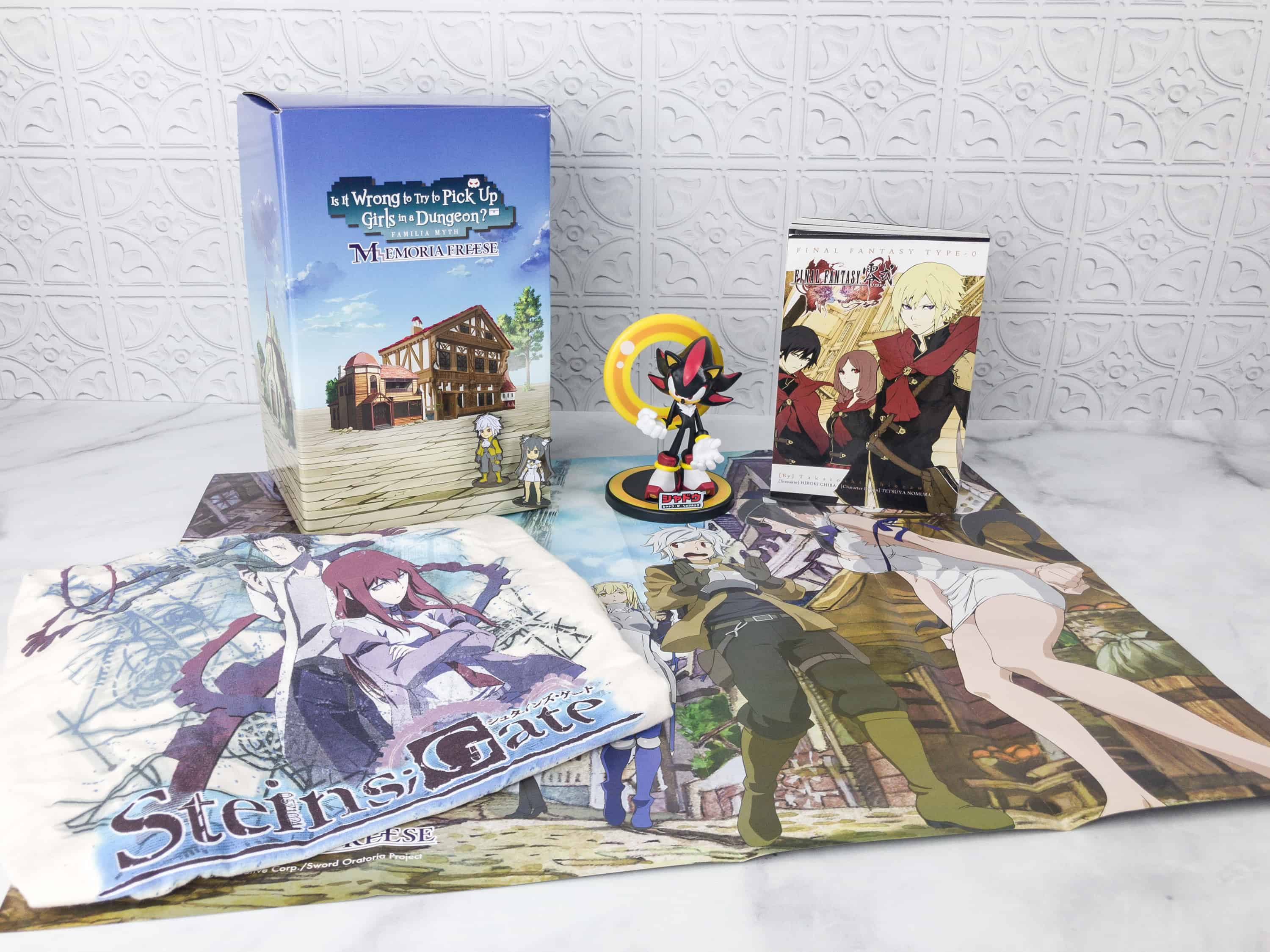 Loot Anime January 2018 Subscription Box Review & Coupons – GAME ON