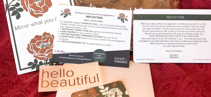 Loved+Blessed February 2018 Subscription Box Review + Coupon