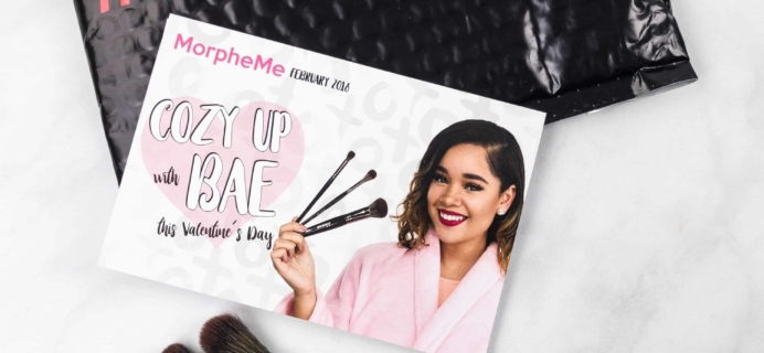 MorpheMe Brush Club February 2018 Subscription Box Review + Free Brush Coupon!