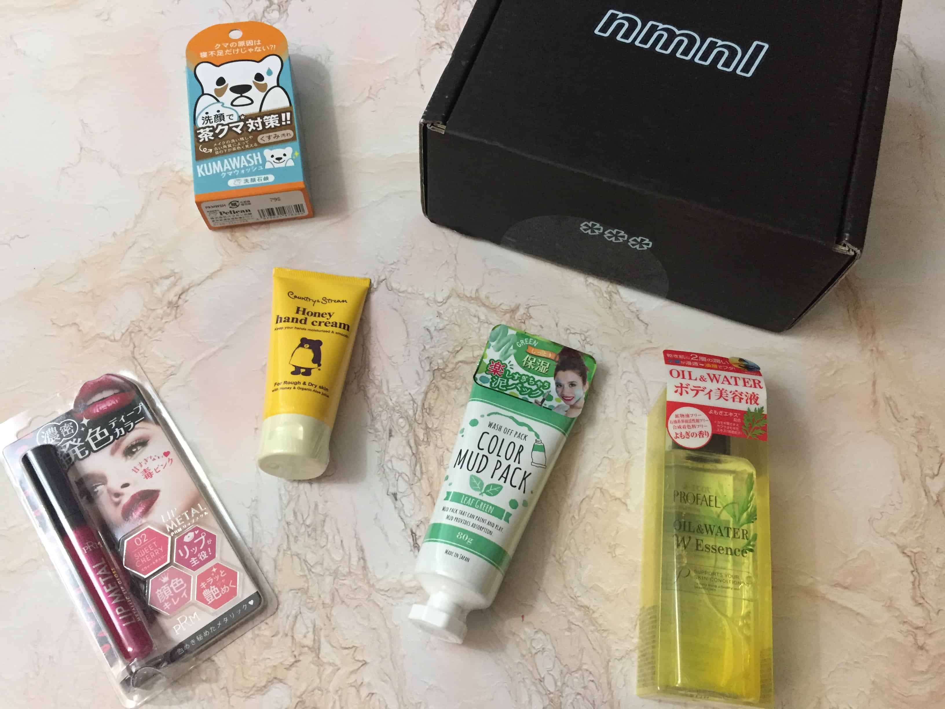 nmnl February 2018 Subscription Box Review + Coupon