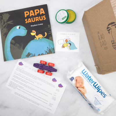 The Rad Dad Box January 2018 Subscription Box Review