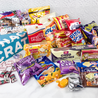 Snack Crate Premium February 2018 Subscription Box Review & $10 Coupon – Philippines