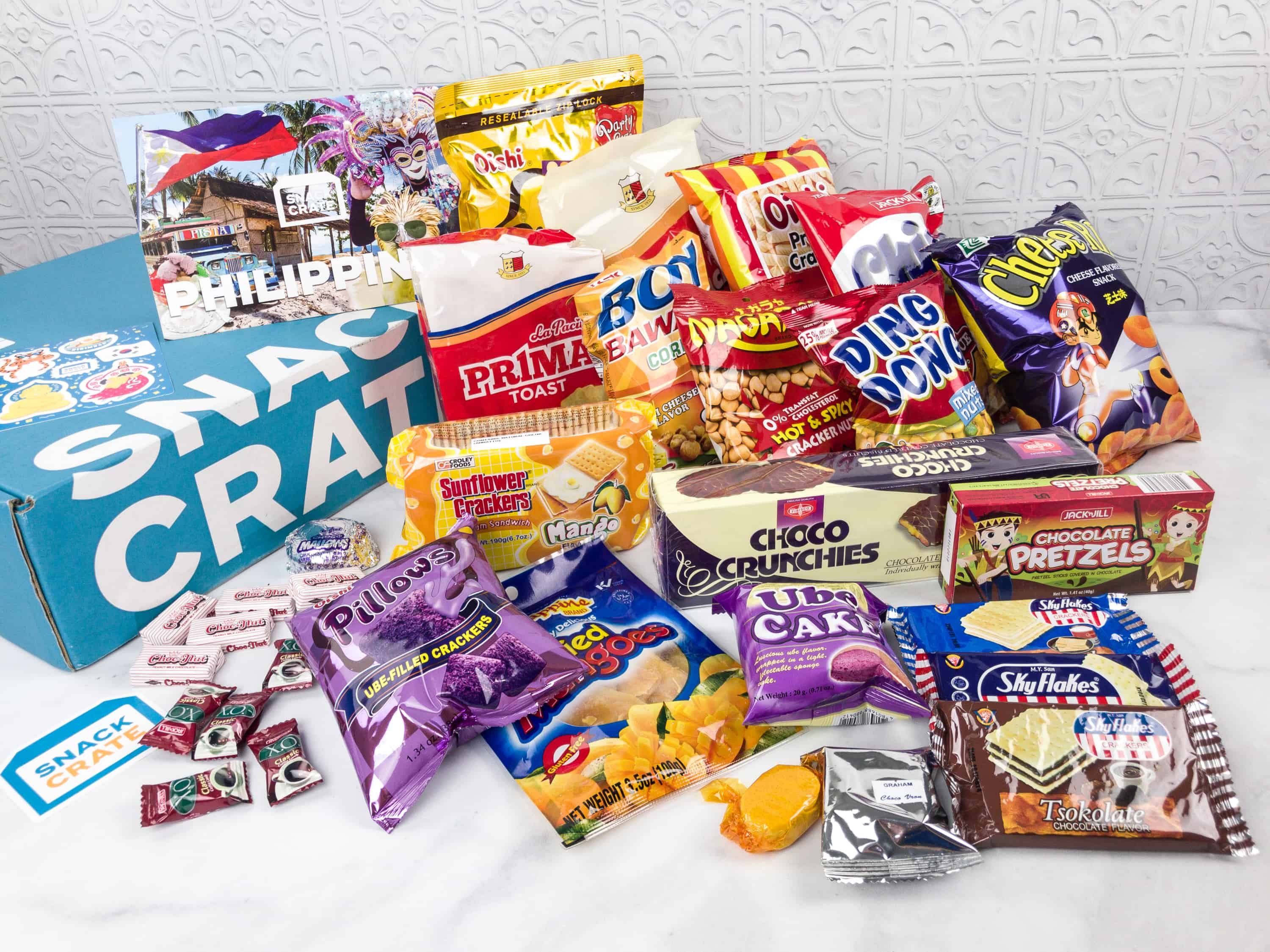 Snack Crate Premium January 2018 Subscription Box Review