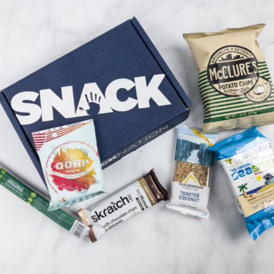 Snack Nation February 2018 Subscription Box Review + Coupon!