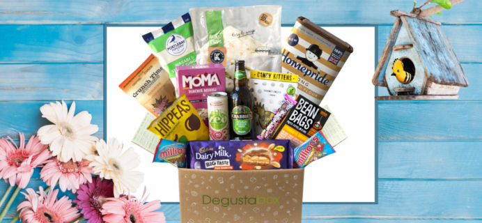 Degustabox UK £5 Off Coupon + Free Gift In First Box –  Lucozade Energy Original!