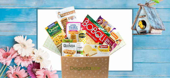 Degustabox 50% Off Coupon + Free Gift In First Box – Sahale Snacks