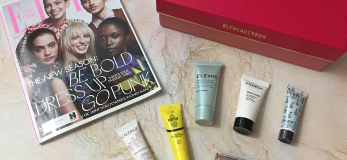 lookfantastic Beauty Box February 2018 Subscription Box Review