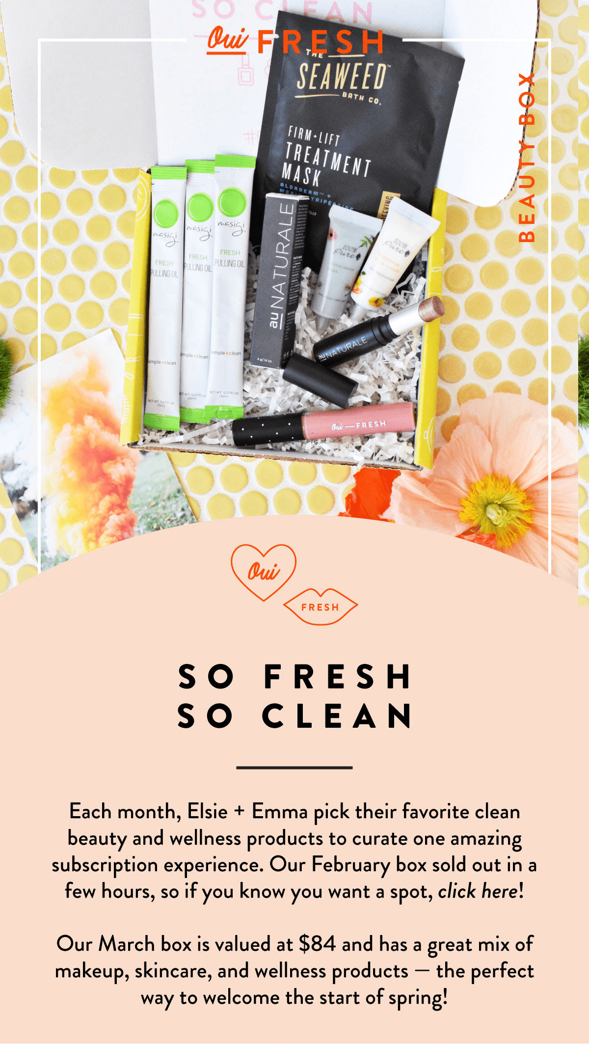 Oui Fresh Beauty Box March 2018 Full Spoilers!