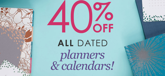 Erin Condren March 2018 Sale: Get 40% All dated Planners & Calendars!