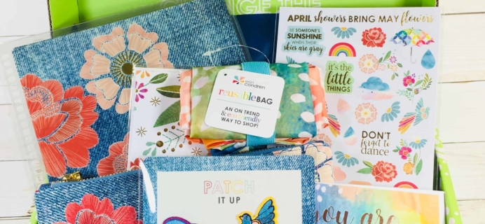 Erin Condren Seasonal Surprise Box Spring 2018 Subscription Box Review
