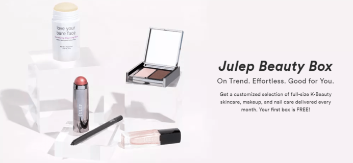 Julep Free Box Code: Get FREE Customizable Beauty Box When You Join!