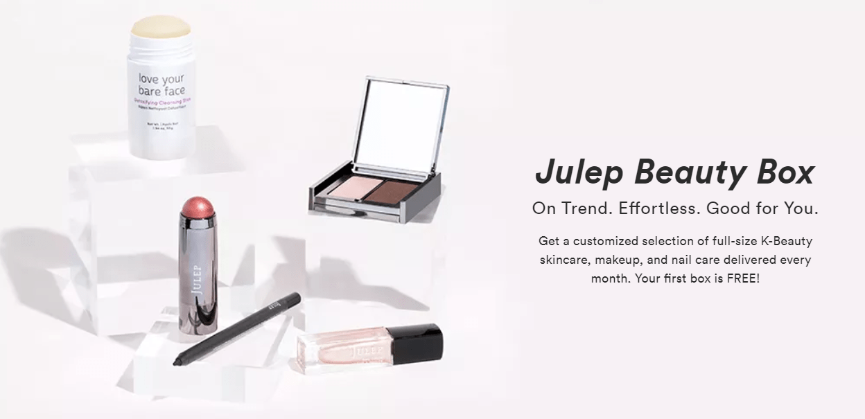 New Julep Free Box Code: Get FREE Customizable Box When You Join!