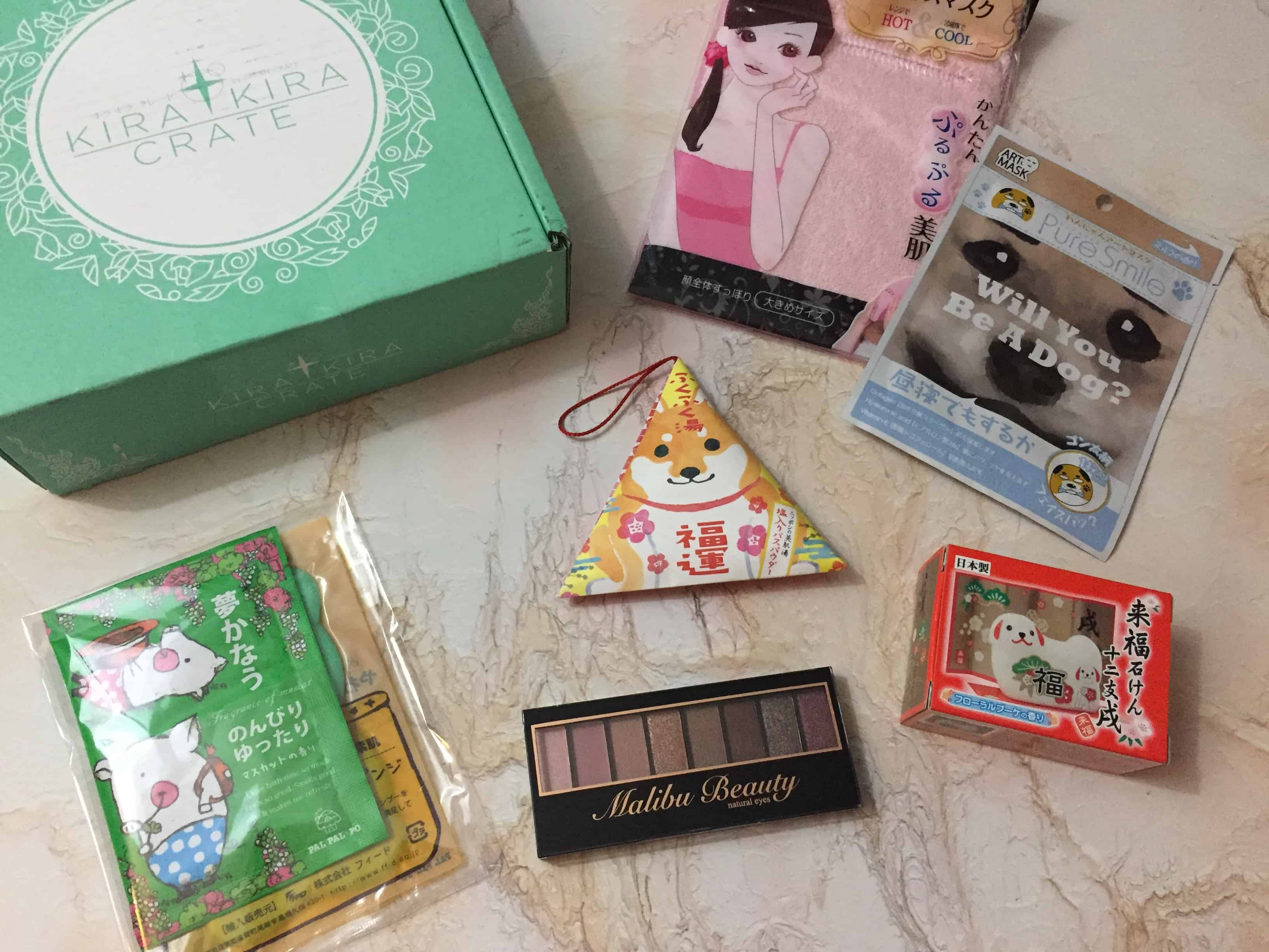 Kira Kira Crate January 2018 Subscription Box Review + Coupon