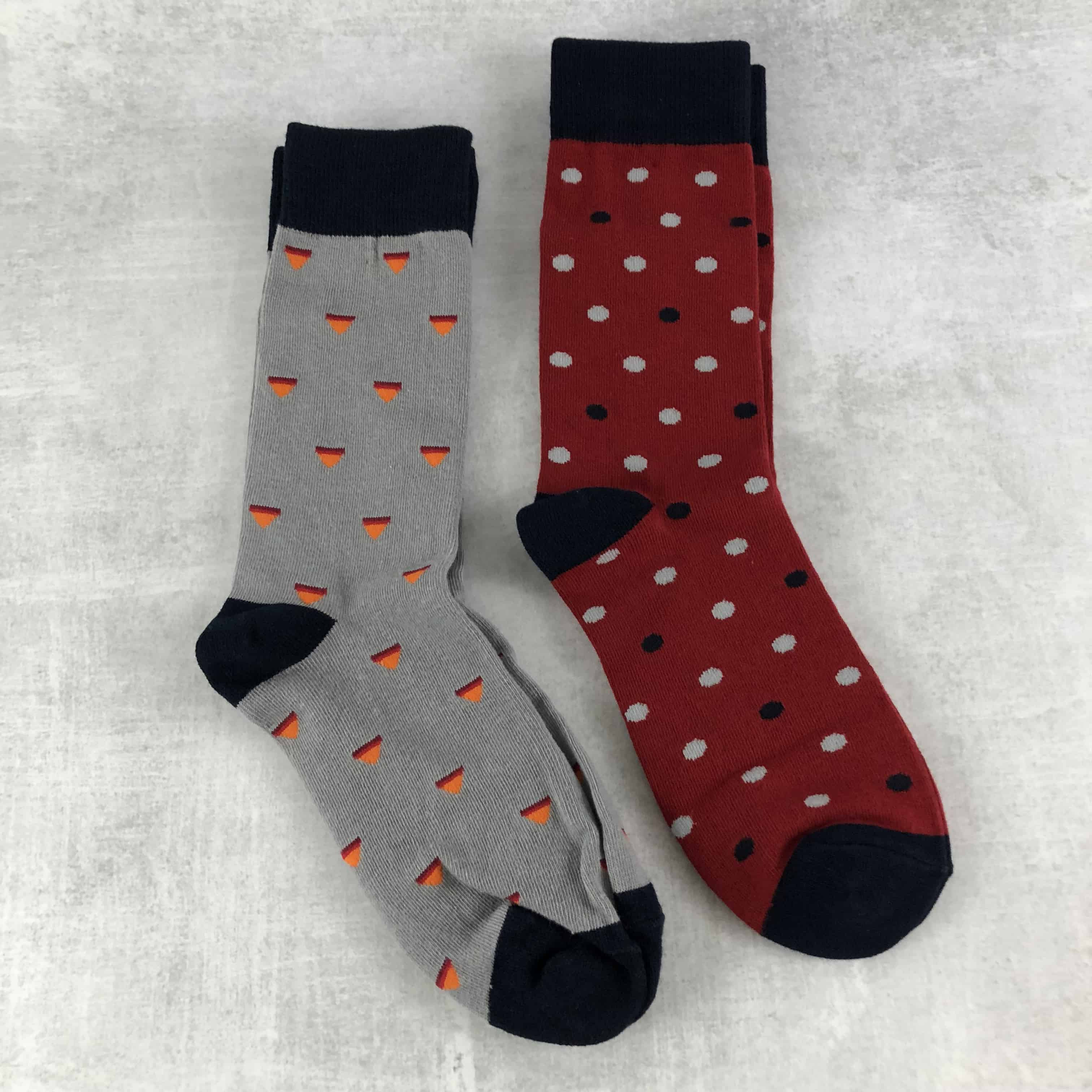 Society Socks February 2018 Subscription Box Review + 50% Off Coupon