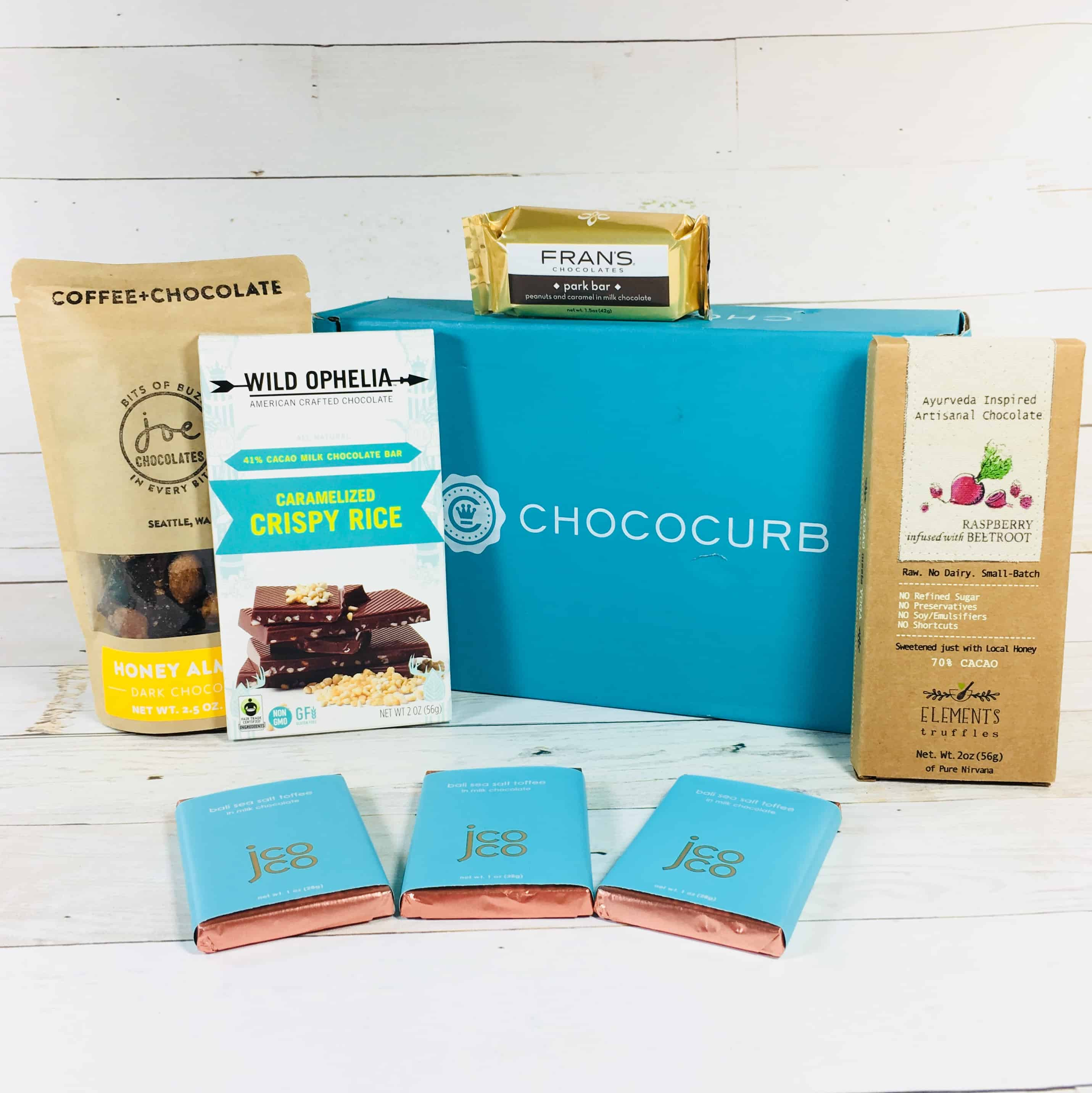 Chococurb Classic February 2018 Subscription Box Review