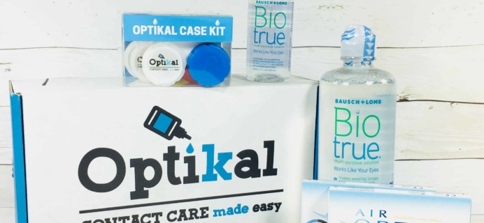 Optikal February 2018 Subscription Box Review + Coupon
