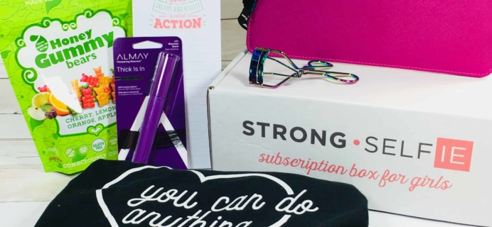 STRONG self(ie) Subscription Box Review – Spring 2018 BURST(box)