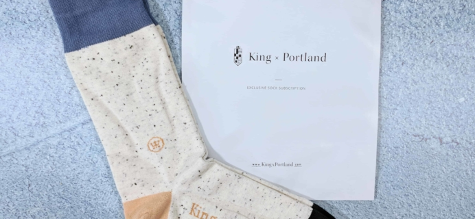 King x Portland February 2018 Subscription Box Review + Coupon!