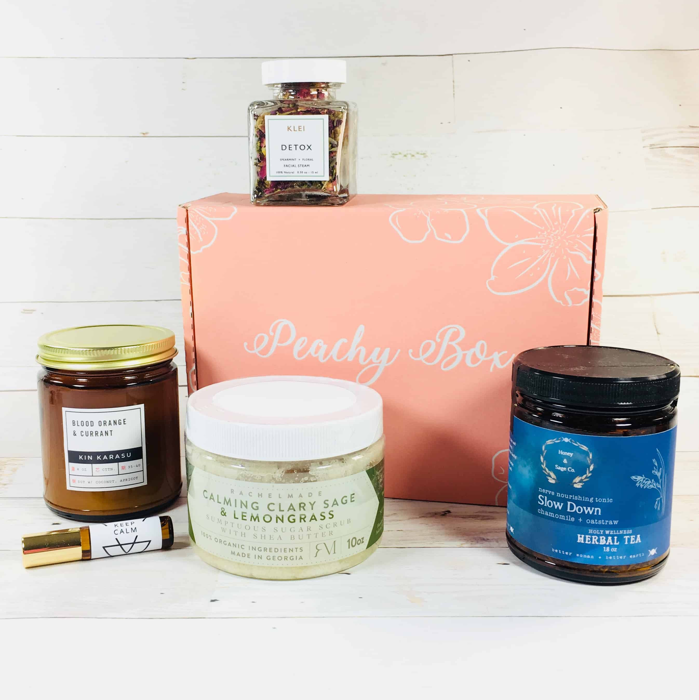 Peachy Box Subscription Box Review + Coupon – March 2018
