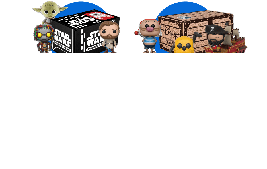 Past Funko Subscription Boxes Now Available in the Funko Shop!