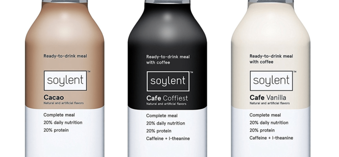 New Amazon Prime FREE After Credit Soylent Sample Box!