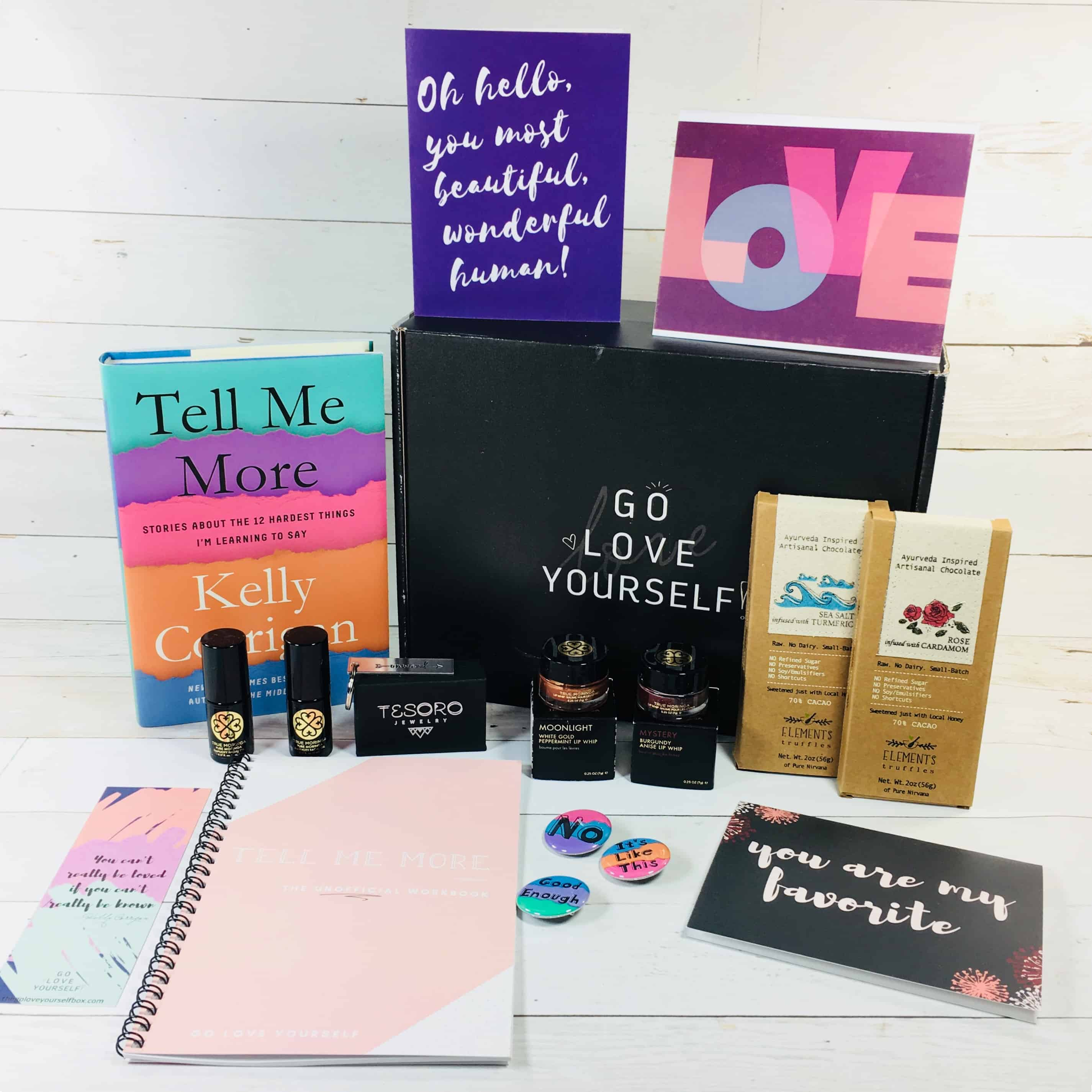 Go Love Yourself March 2018 Subscription Box Review + Coupon