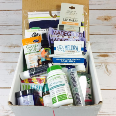 Ecocentric Mom Spring 2018 Mystery Box Available Now !