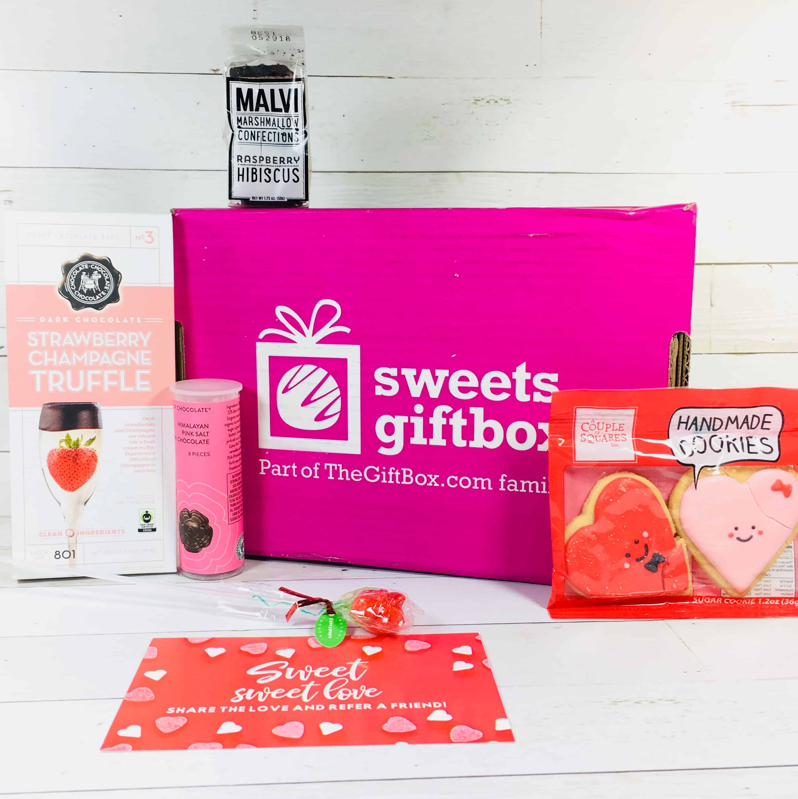 Sweets Gift Box February 2018 Subscription Box Review + Half Off First Box!