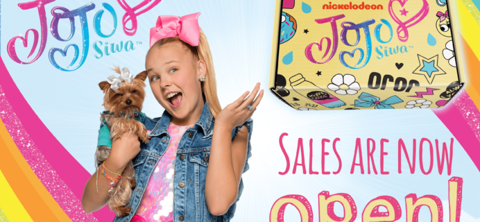 The Jojo Siwa Spring 2018 Box Available Now!