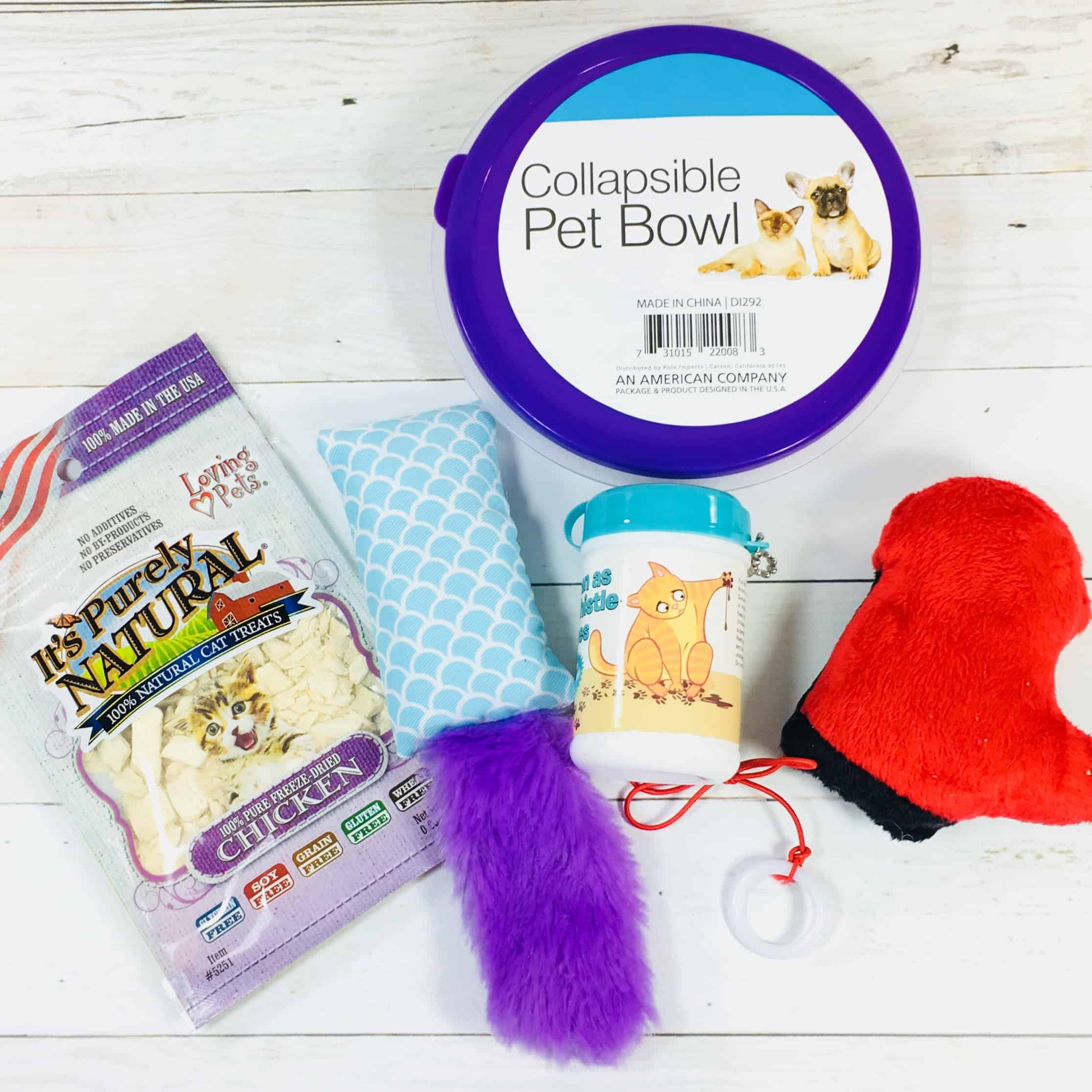 PetGiftBox March 2018 Cat Subscription Box Review + 50% Off Coupon