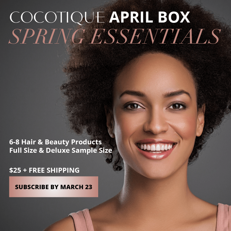 Cocotique April 2018 Spoilers + Coupon Code!