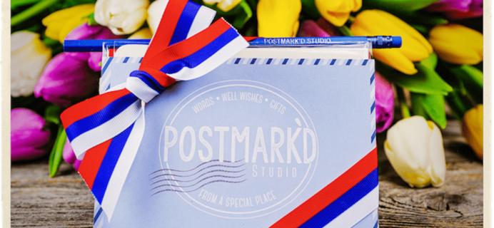 Postmark'd Studio PostBox April 2018 Spoilers #2 + Coupon!